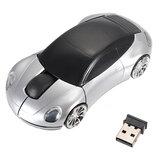 Mouse wireless ottico 3D per auto USB 2.4G 1600 dpi