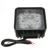 27W 9 LED White Work Spot Ołówek Off Road Lamp Light Truck 4WD 4x4