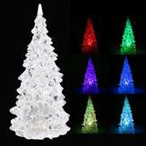 クリスタル  LED   クリスマスツリー 7色チェンジ ナイトライト