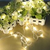 100 LED 10m Warm White String Decoration Light for Christmas