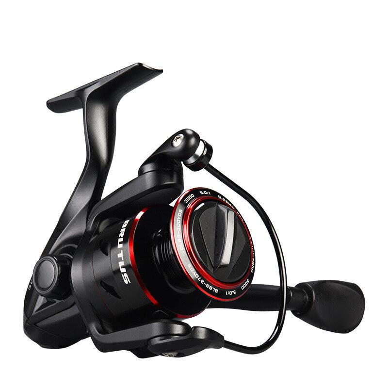 ZANLURE LF300 7.2:1 High Ratio Fishing Reel Left Right Hand 5.5kg Drag Saltwater Baitcasting Wheel - 1