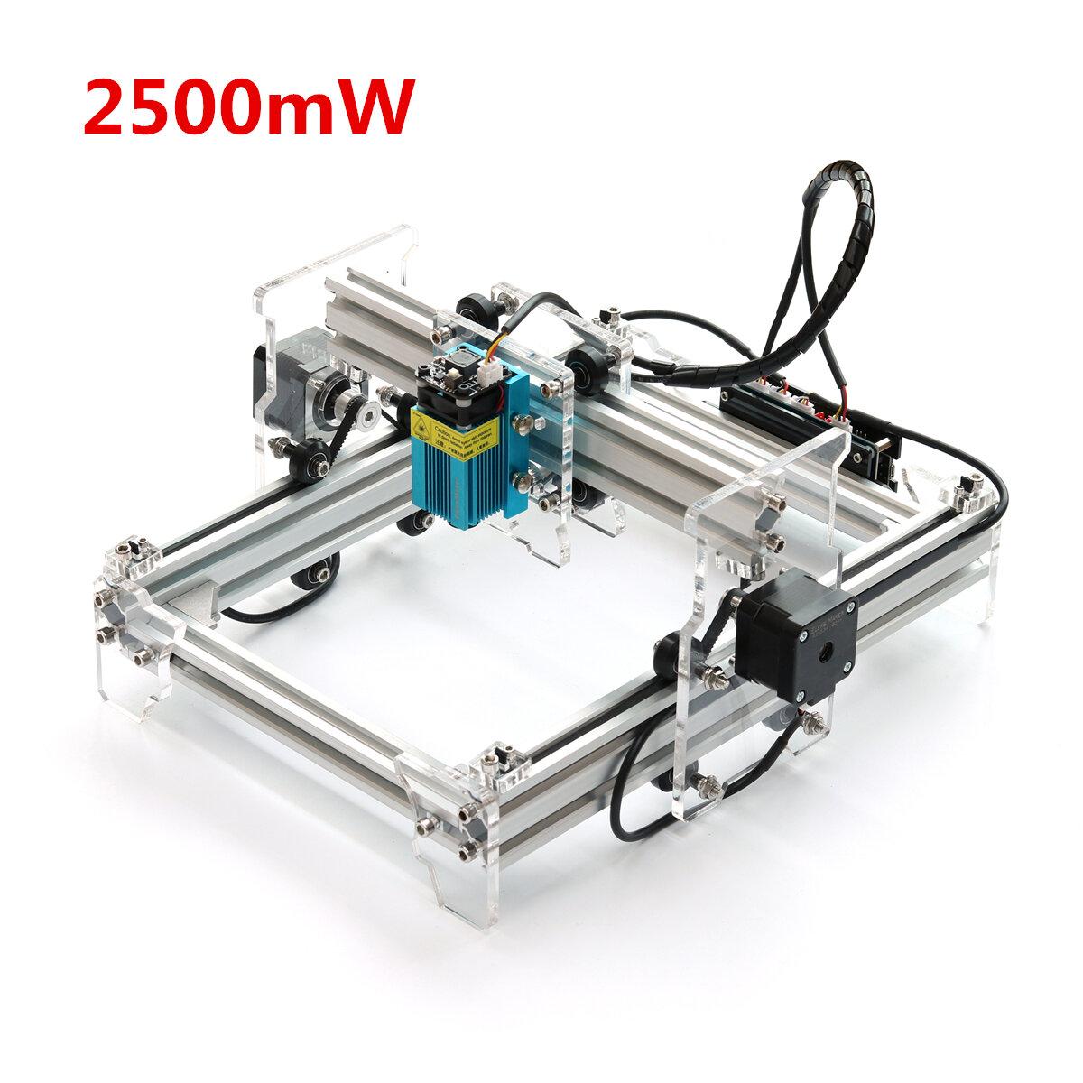 NEJE Upgraded DK-8-KZ 1500mW Blue Violet Laser Engraving Machine Mini Desktop DIY Engraver Protective Panel - 1