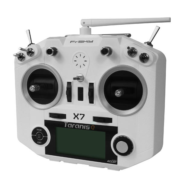 FrSky Taranis X-Lite ACCST 2.4GHz 16CH Mode2 Radio Transmitter with 18650 Battery Black Caps for RC Drone FPV Racing Muliti Rotor - 3