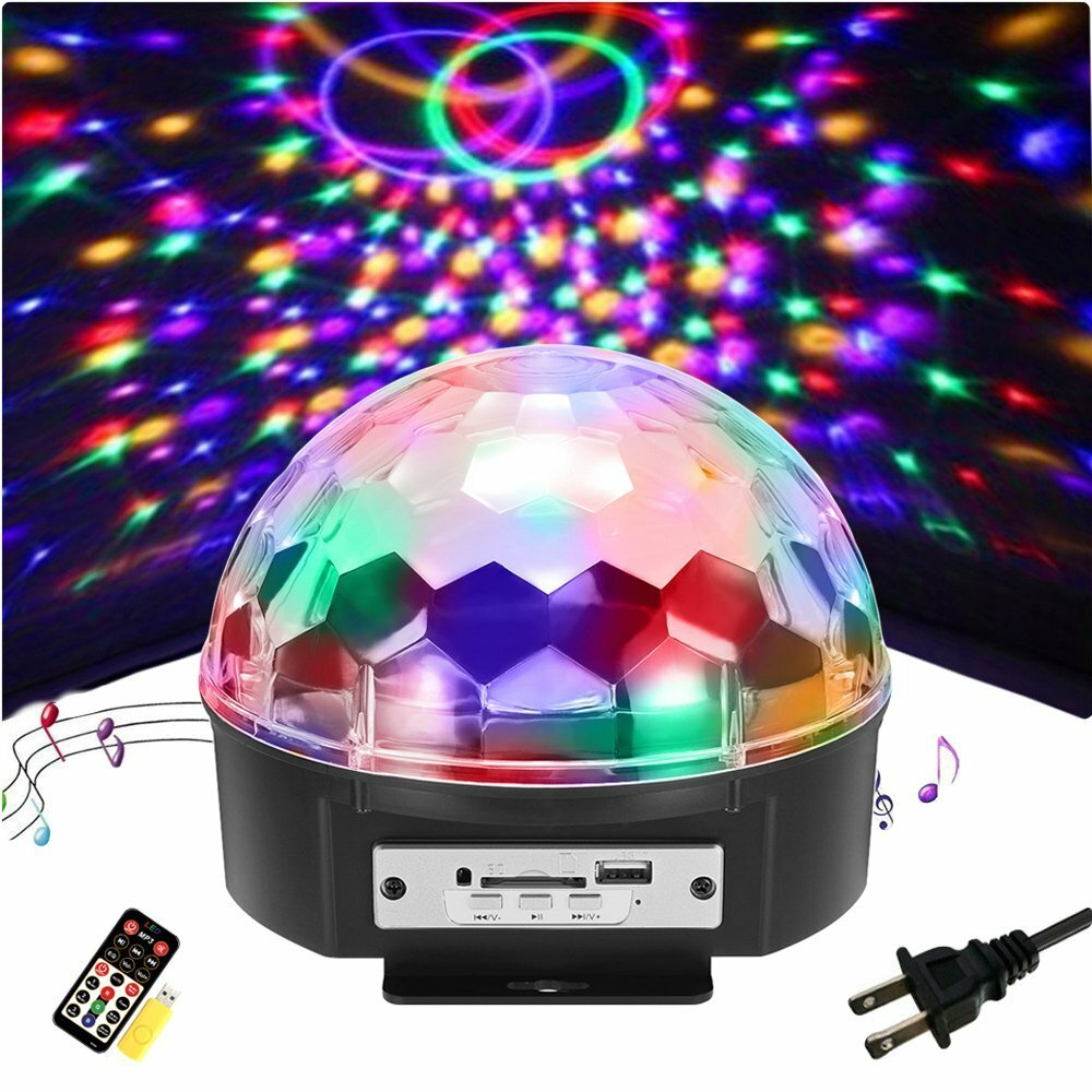 5W Moving Snowflake Snow LED Mini Projector Light Adjustable Waterproof Lamp - 1