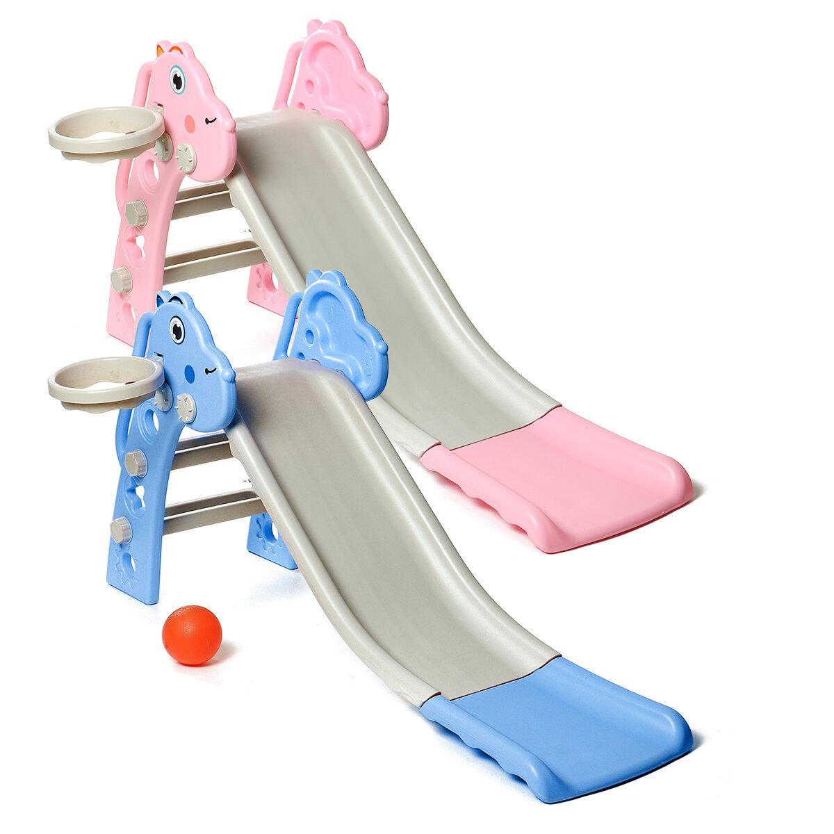 Pink Girls Castle Play Tent Princess Playhouse Children Kids Indoor Toys - 1
