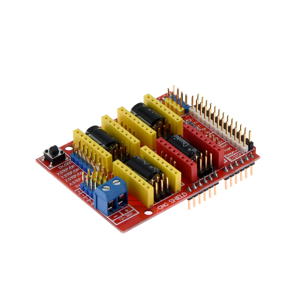 1.75mm 0.4mm Dual Fans Extruder With 0.1mm Accuracy/ Over Temperature Protection For 3D Printer Part - 3