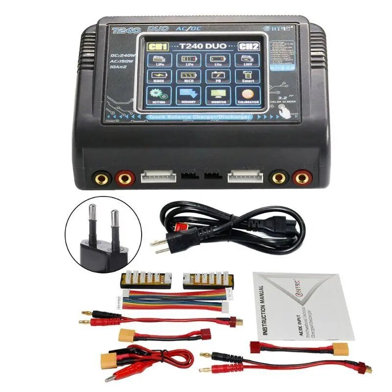 IMax B6 50W 5A Battery Balance Charger With 12V 5A Power Supply XT60 Parallel Board - 9