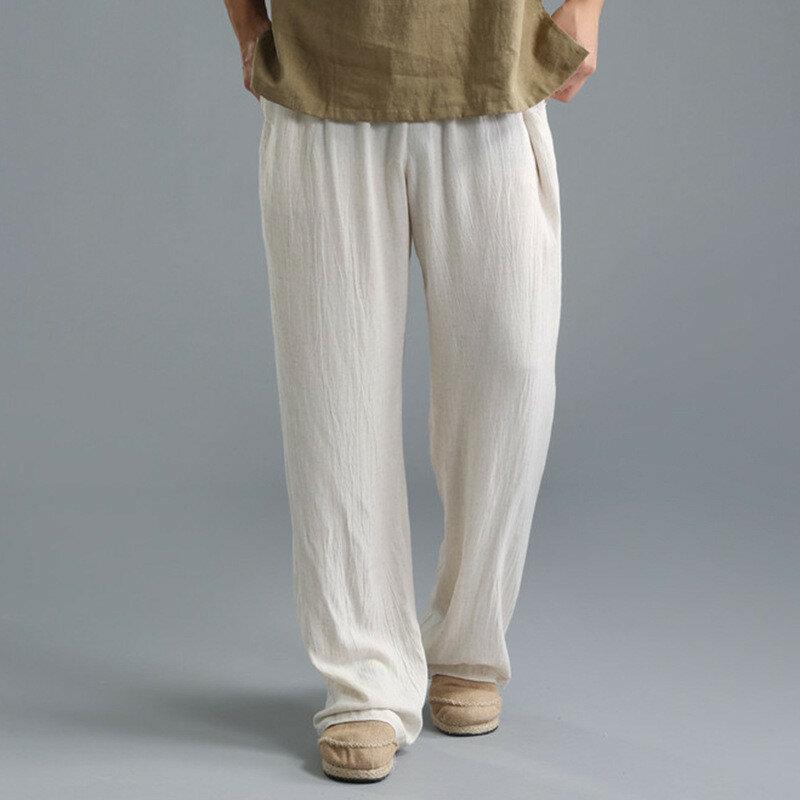 Mens Harem Pants Baggy Slacks Trousers Sportwear Casual Jogger Pants - 4