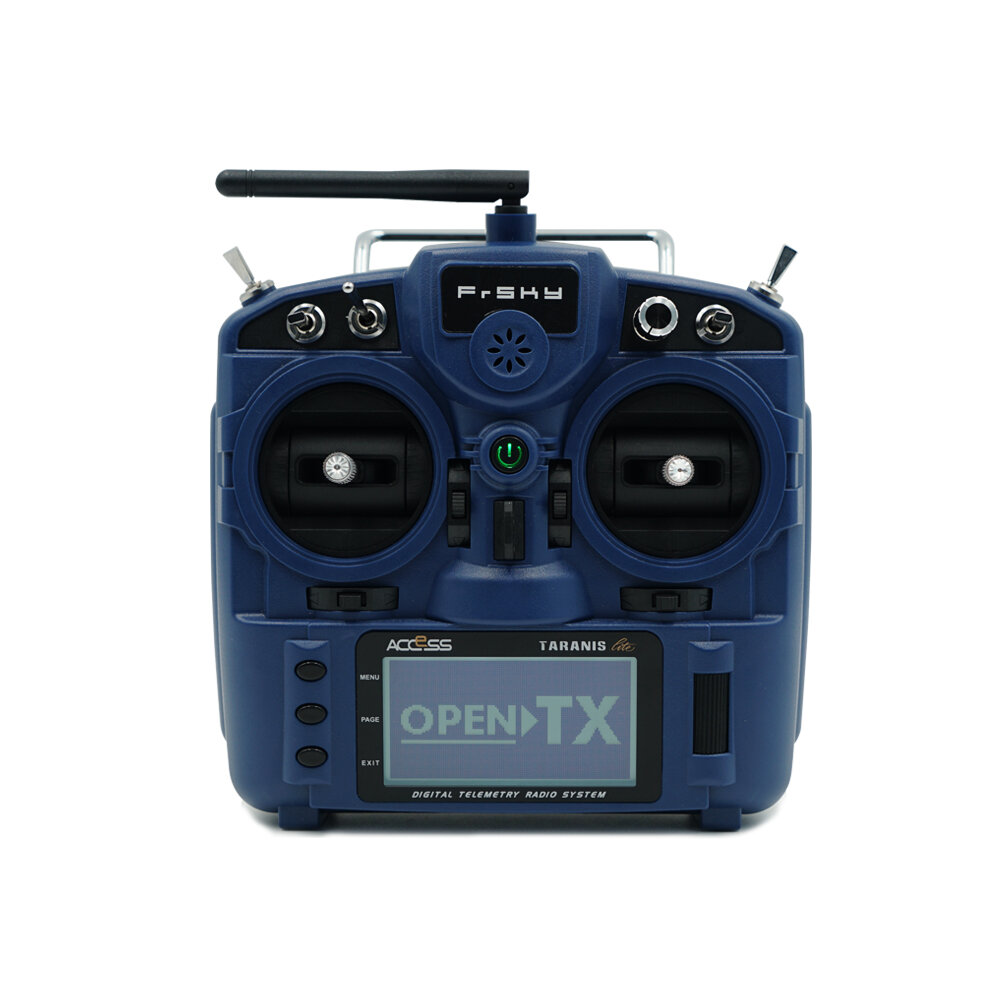 FrSky Taranis X-Lite ACCST 2.4GHz 16CH Mode2 Radio Transmitter with 18650 Battery Black Caps for RC Drone FPV Racing Muliti Rotor - 6