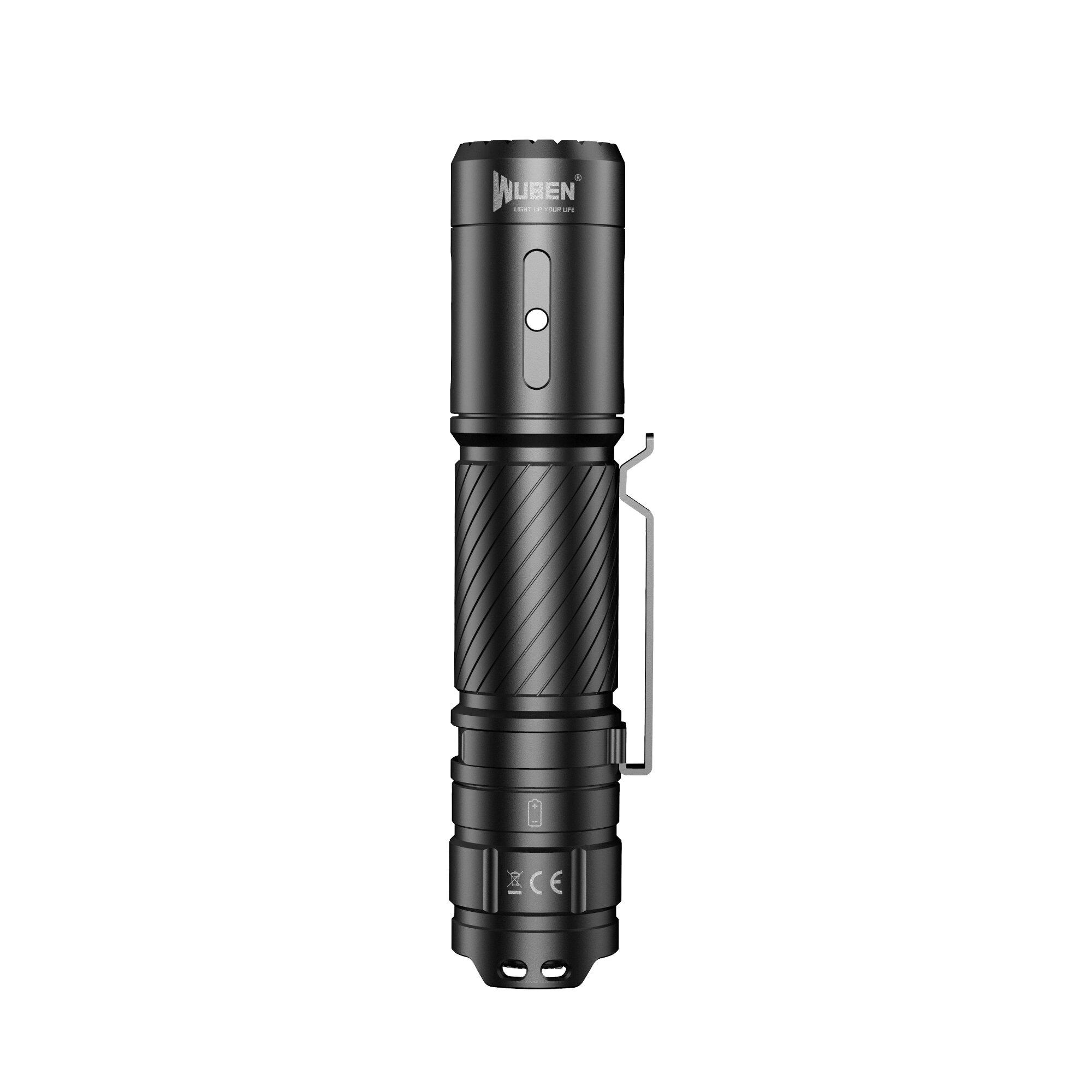 JETbeam Mini-1 TI Titanium XP-G2 130LM USB Rechargeable Mini LED Flashlight - 1