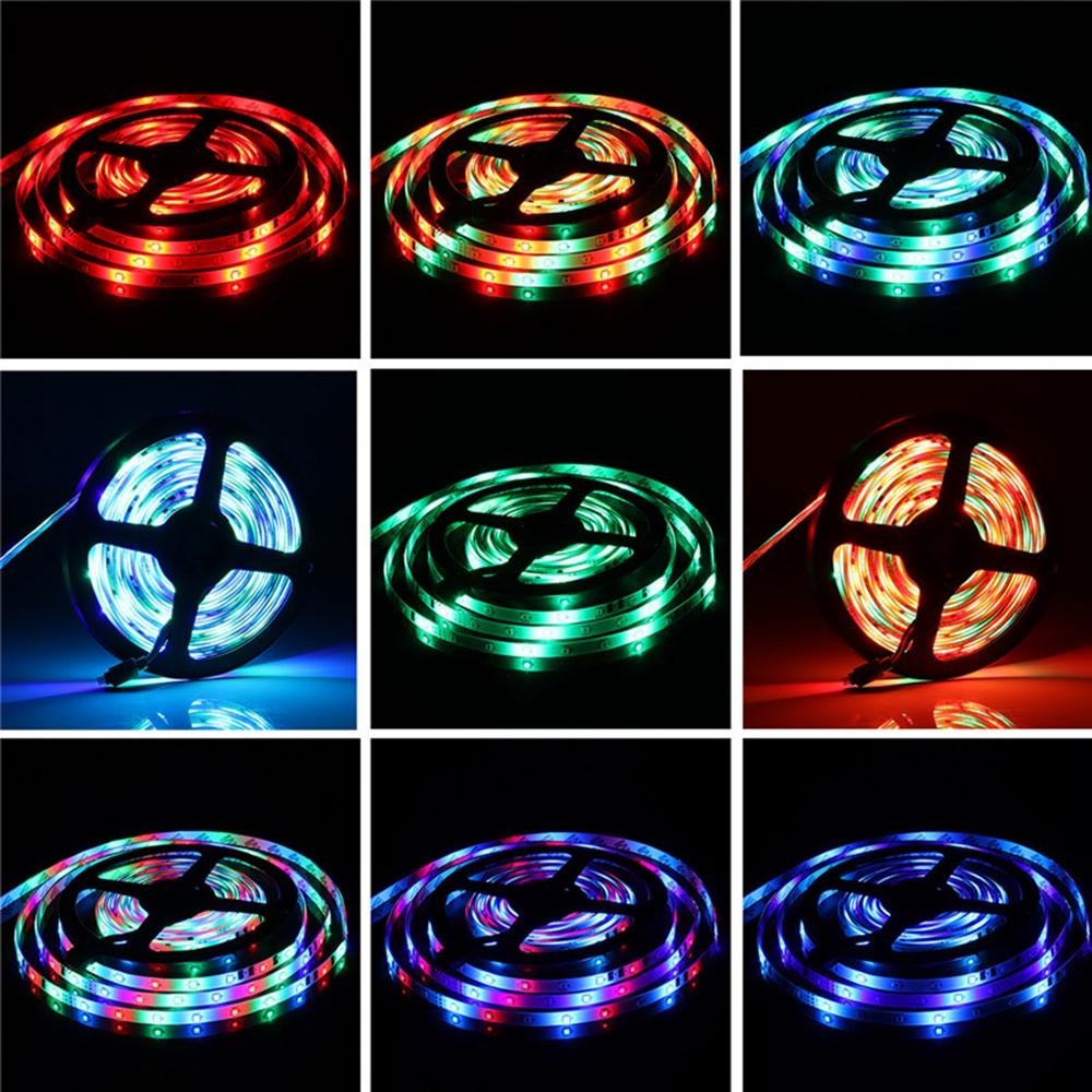 10M LED Strip Light Kit SMD5050 Waterproof RGB Flexible Lamp with 44 Key IR Remote RGB Controller + 12V 5A Power Supply - 8