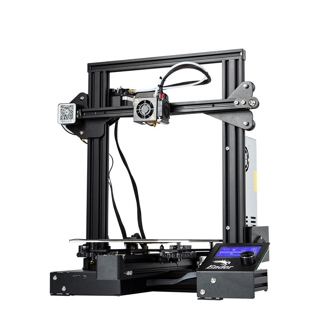 Creality 3D® Ender-3 V2 Upgraded DIY 3D Printer Kit 220x220x250mm Printing Size Ultra-silent TMC2208/Silent Mainboard/Carborundum Glass Platform Support Resume Print - 2