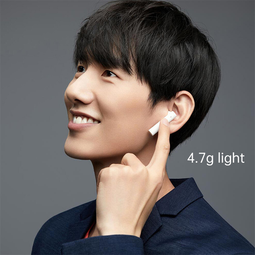 Xiaomi Airdots Basic TWS bluetooth 5.0 Earphone Mi True Wireless Earbuds Global Version Bilateral Call Stereo with Charging Box - 4