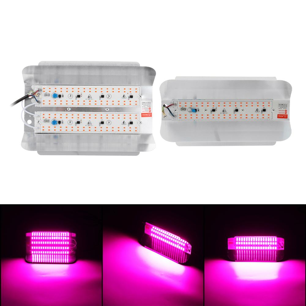 Full Spectrum LED Grow Light Growing Lamp For Hydroponic Plant + 2 Fan New - 2