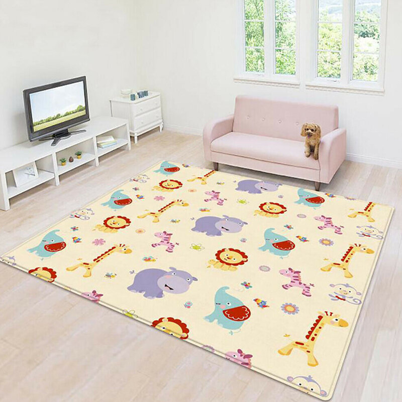 Foot Play Piano Musical Lullaby Baby Activity Playmat Gym Toy Soft Baby Play Mat - 1