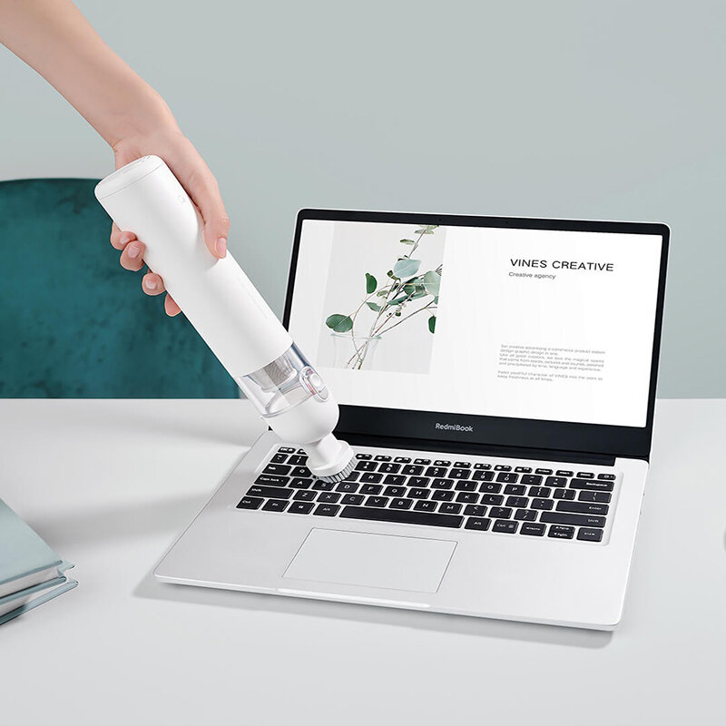 Xiaomi Mijia Handheld Cordless Vacuum Cleaner 23000PA Strong Suction, 100000RPM Brushless Motor, 100AW Suction Power, Depth Mite Removal, 30min Long Battery life - 4