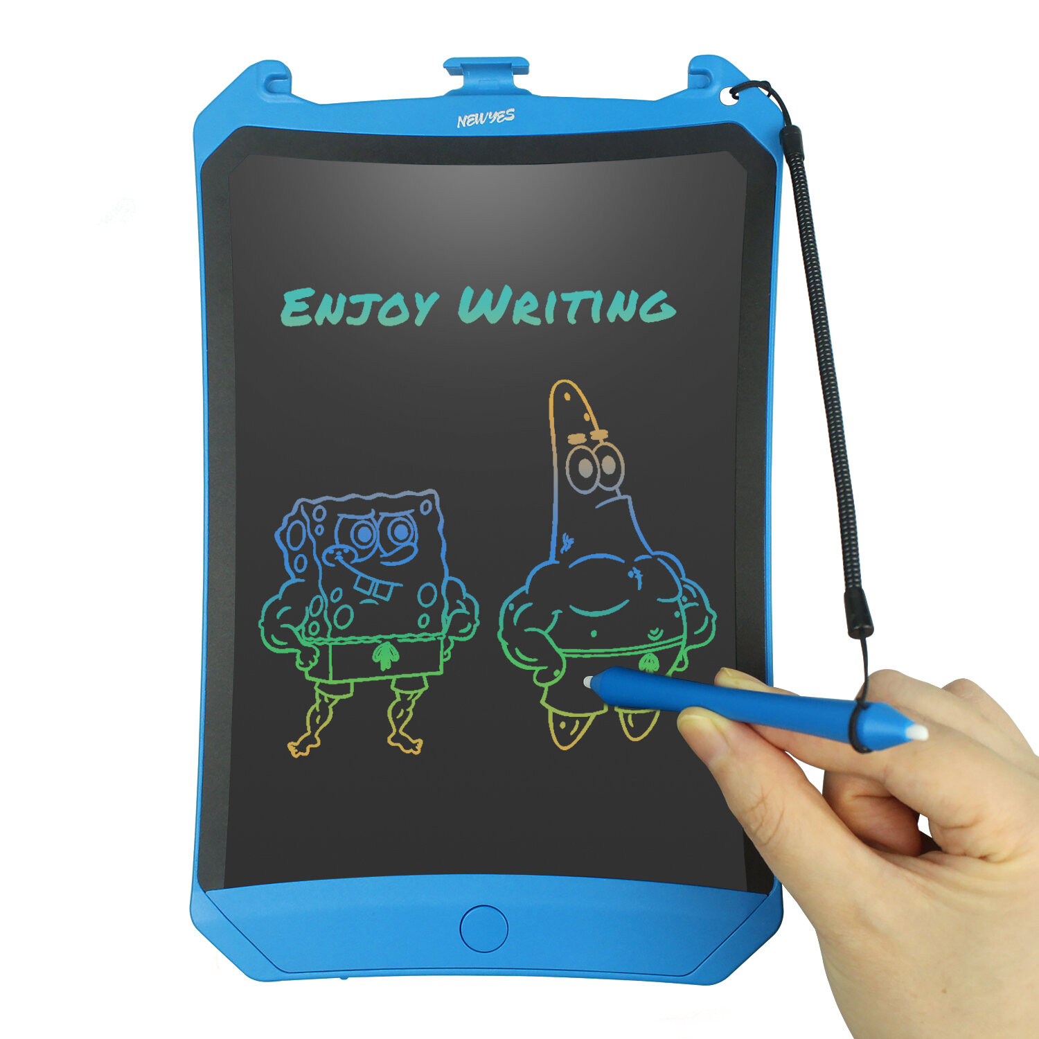 NEWYES 8.5inch LCD Writing Tablet Drawing Notepad Electronic Handwriting Painting Office Pad Multi color Screen Lock Key One click Eraser Toys - 5