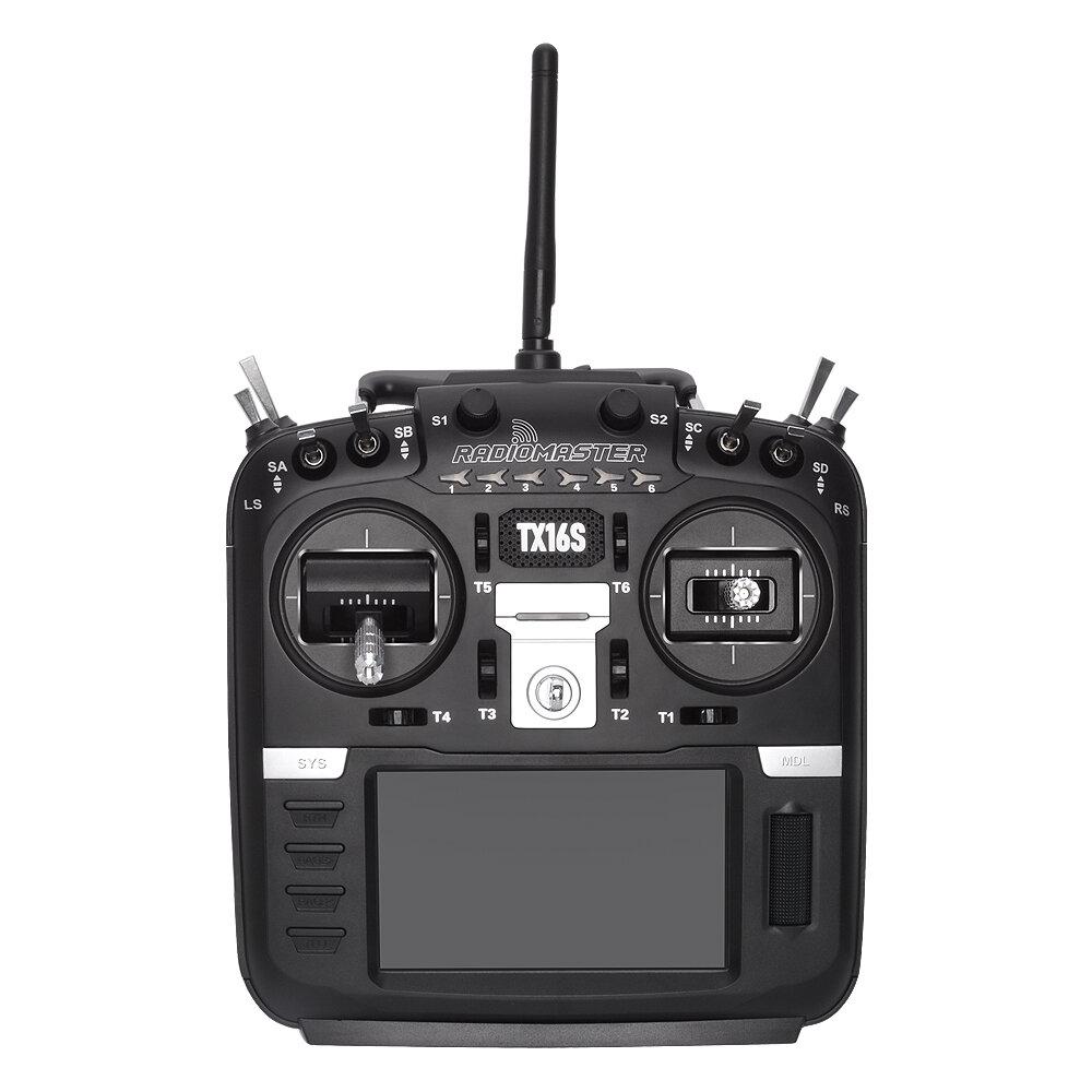 Jumper T8SG V2.0 Plus Carbon Special Edition Hall Gimbal Multi-protocol Advanced Transmitter for Flysky Frsky - 1