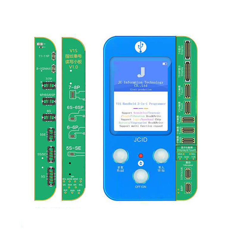 Qianli Mega-idea Battery Programmer for Phone 5 6 6s 7 7P 8 X XS XS MAX Battery Data Write and Read Battery Cycle Clearing Tool - 1