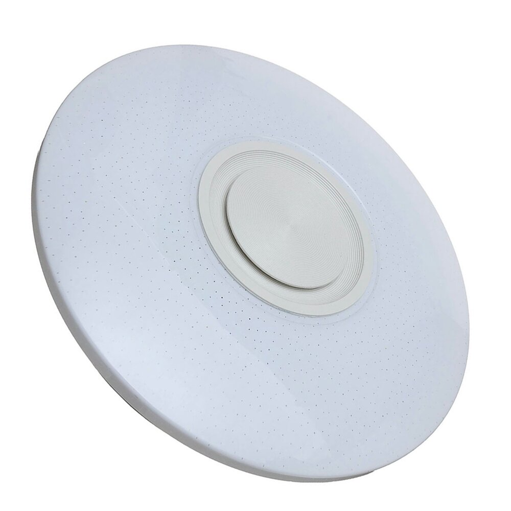 80W Modern Dimmable LED RGB Bluetooth Music Ceiling Light APP Remote Control - 2