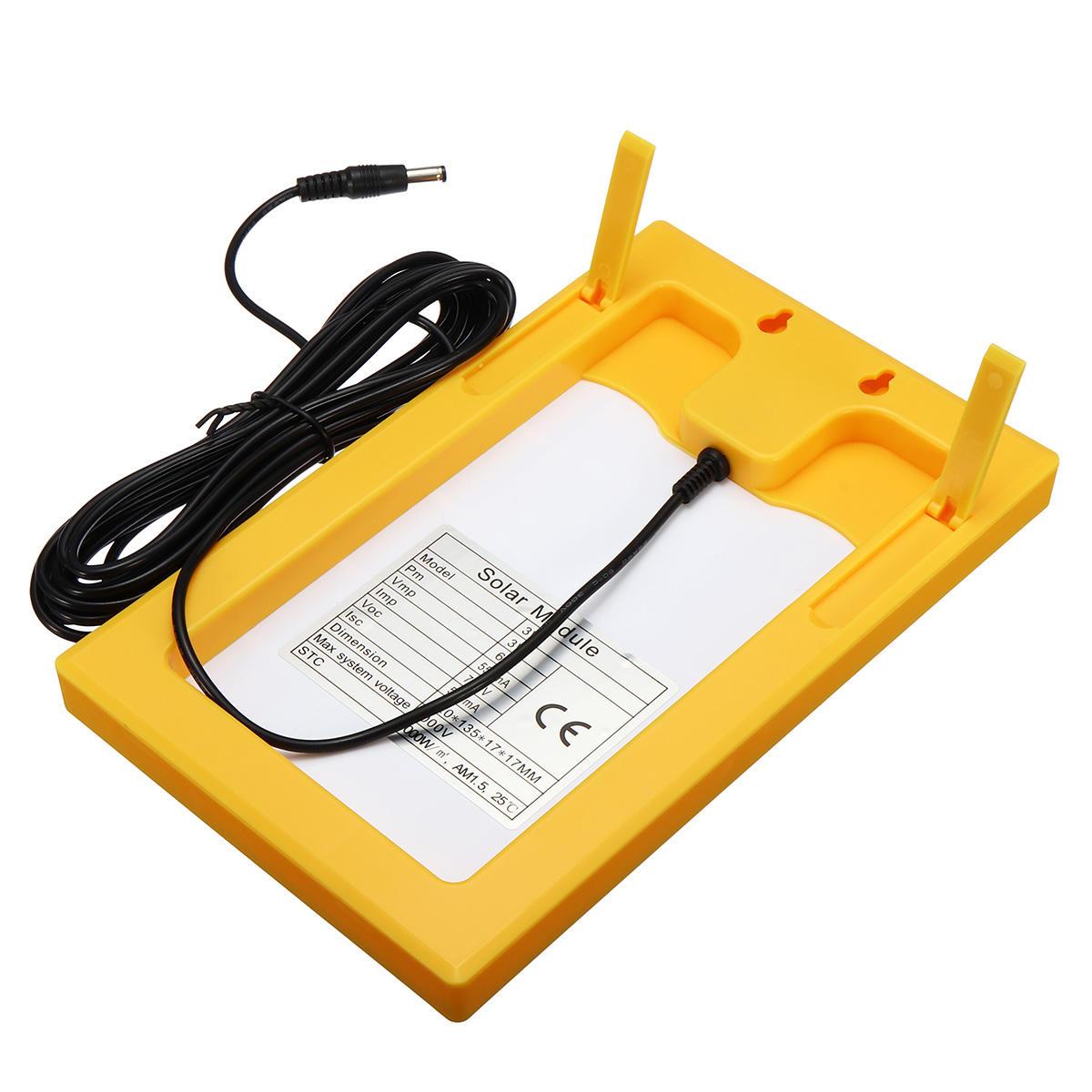 100W 18V Dual USB Solar Panel Battery Solar Cell Module Car Outdoor Charger Solar Power Panel 1Pcs - 7