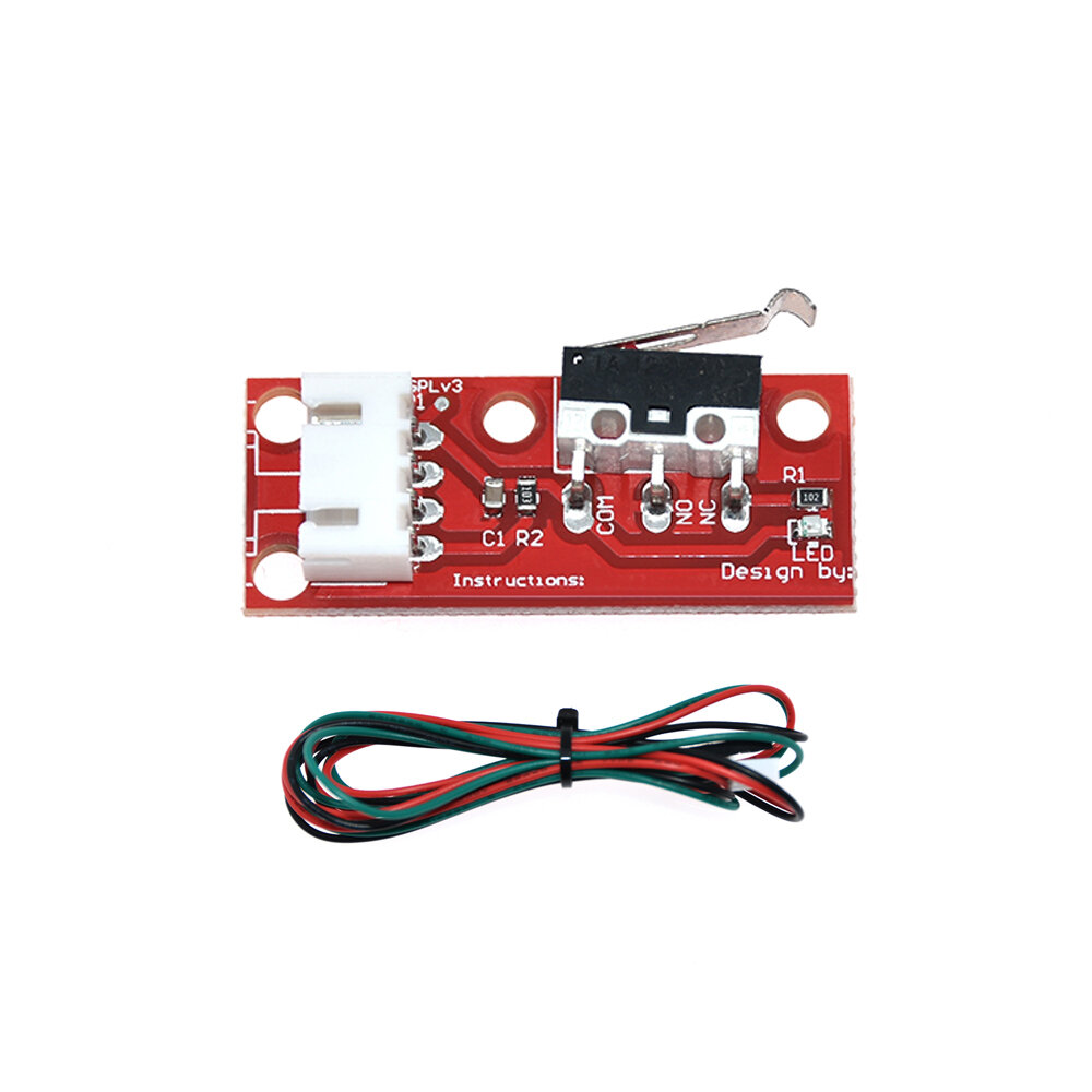 1.75mm 0.4mm Dual Fans Extruder With 0.1mm Accuracy/ Over Temperature Protection For 3D Printer Part - 2