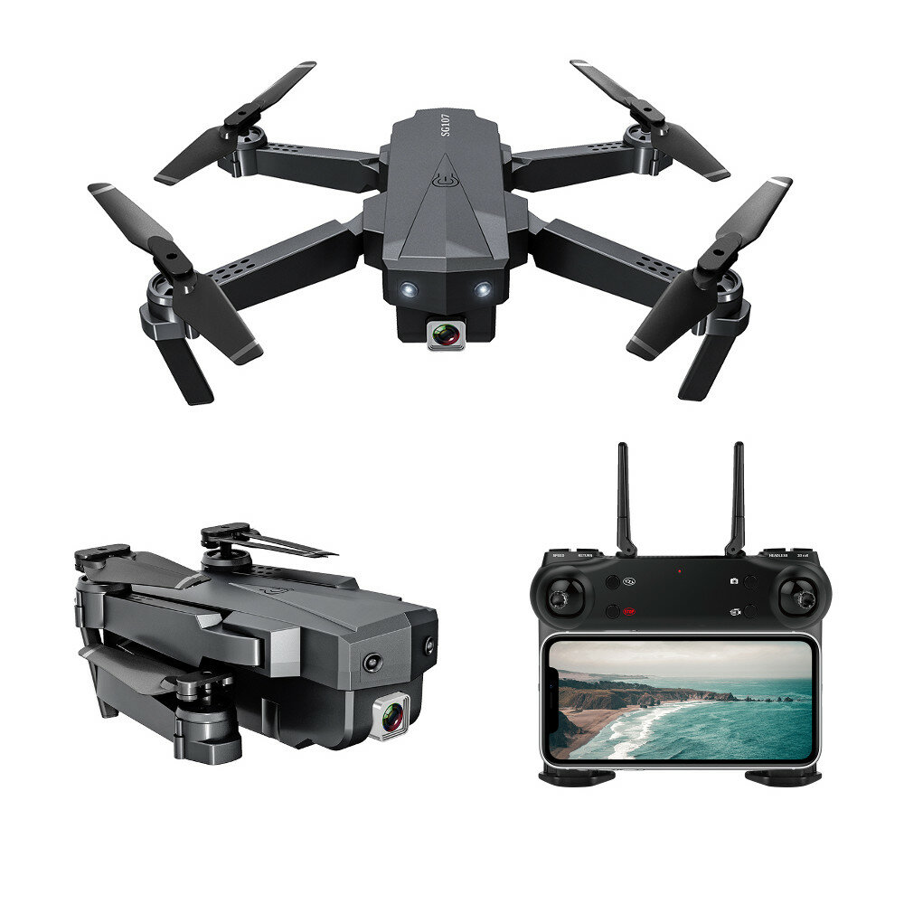 Eachine E58 WIFI FPV With 720P/1080P HD Wide Angle Camera High Hold Mode Foldable RC Drone Quadcopter RTF - 1