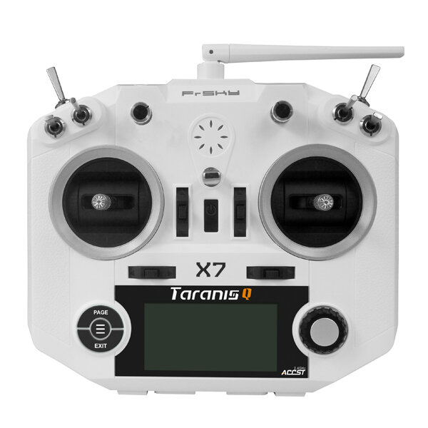 FrSky Taranis X-Lite ACCST 2.4GHz 16CH Mode2 Radio Transmitter with 18650 Battery Black Caps for RC Drone FPV Racing Muliti Rotor - 2