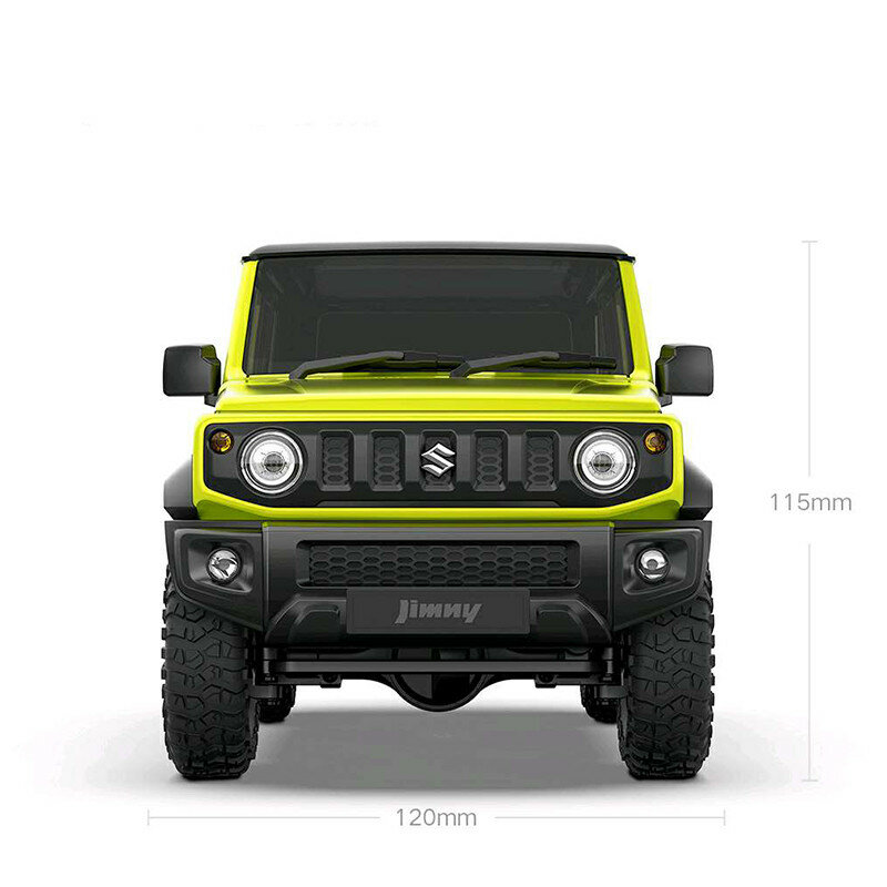 MN90 1/12 2.4G 4WD Rc Car W/ Front LED Light 2 Body Shell Roof Rack Crawler Off-Road Truck RTR Toy - 4
