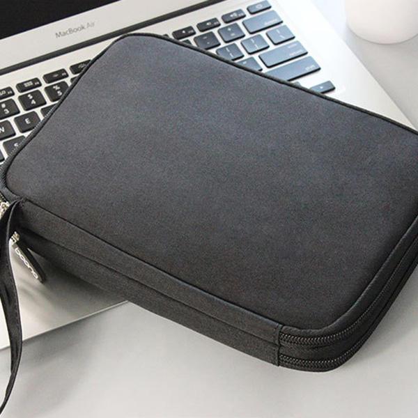 Multifunctional Oxford Store Bag Phone Bag Digital Line Large Capacity Storage Bag for Ipad - 7