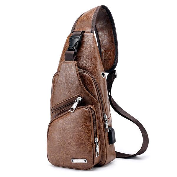Men Multifunction Tactical Backpack Casual Sling Crossbody Bag Shoulder Bag Chest Bag For Outdoor - 8