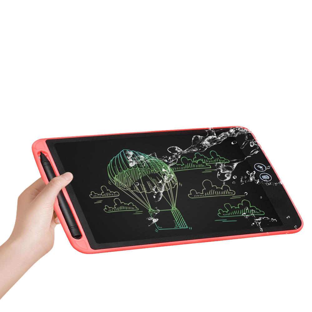 A5 Color LCD Screen 12 inch Writing Tablet Drawing Notepad Electronic Handwriting Painting Office Memo Waterproof Lock Key One click Eraser Toys Gift - 2