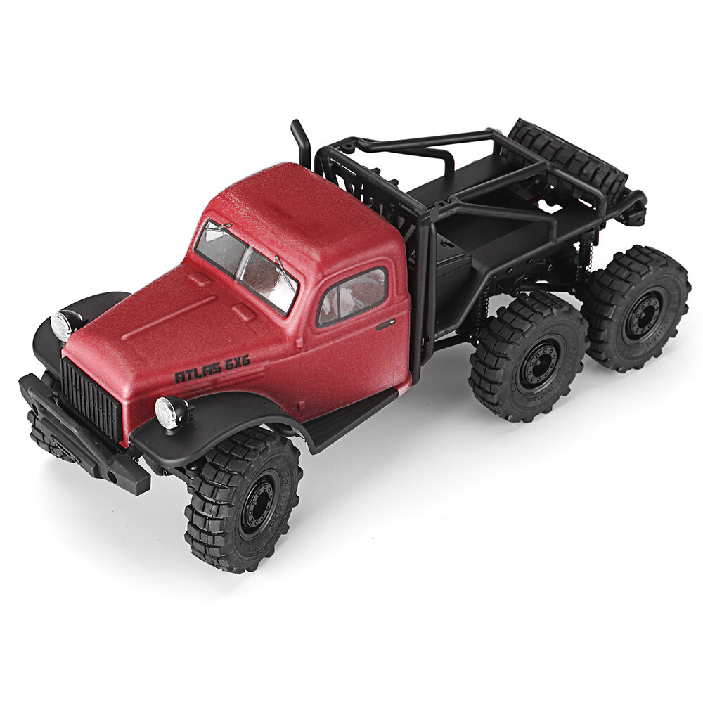 MN90 1/12 2.4G 4WD Rc Car W/ Front LED Light 2 Body Shell Roof Rack Crawler Off-Road Truck RTR Toy - 2