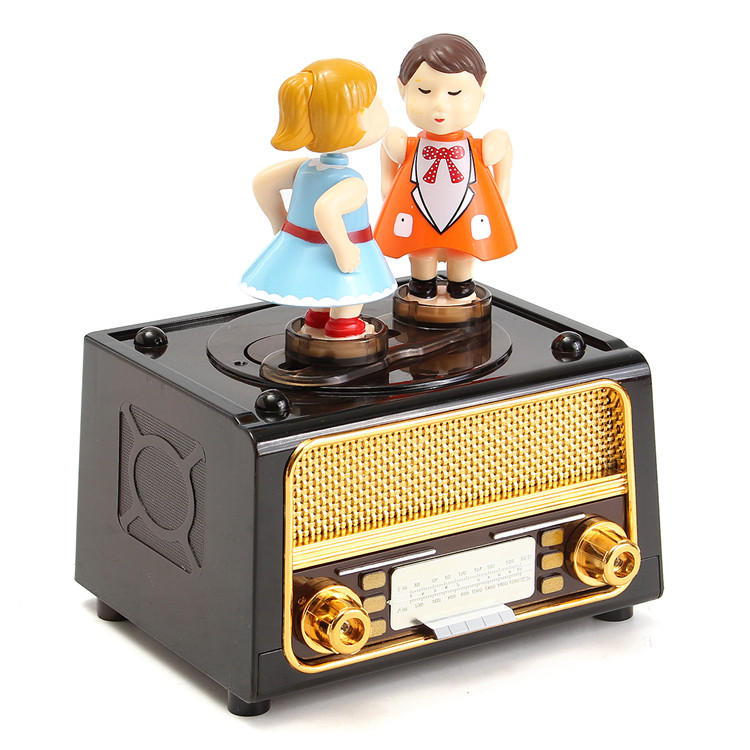 PlastiC Classic Music Box Retro style Cute Kids for Kids Toys Gift - 1