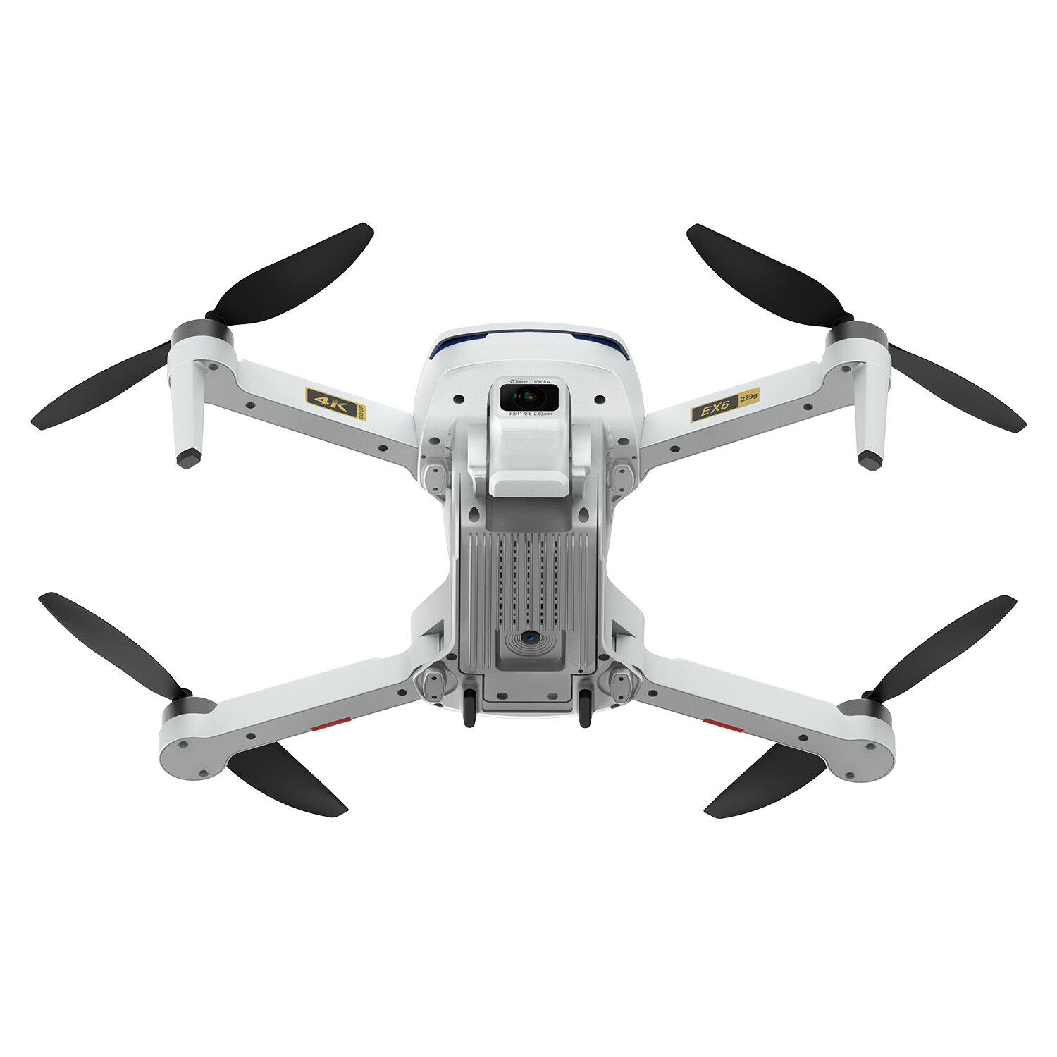 ZLRC SG107 HD Aerial Folding Drone With Switchable 4K Optical Flow Dual Cameras 50X Zoom RC Quadcopter RTF - 6