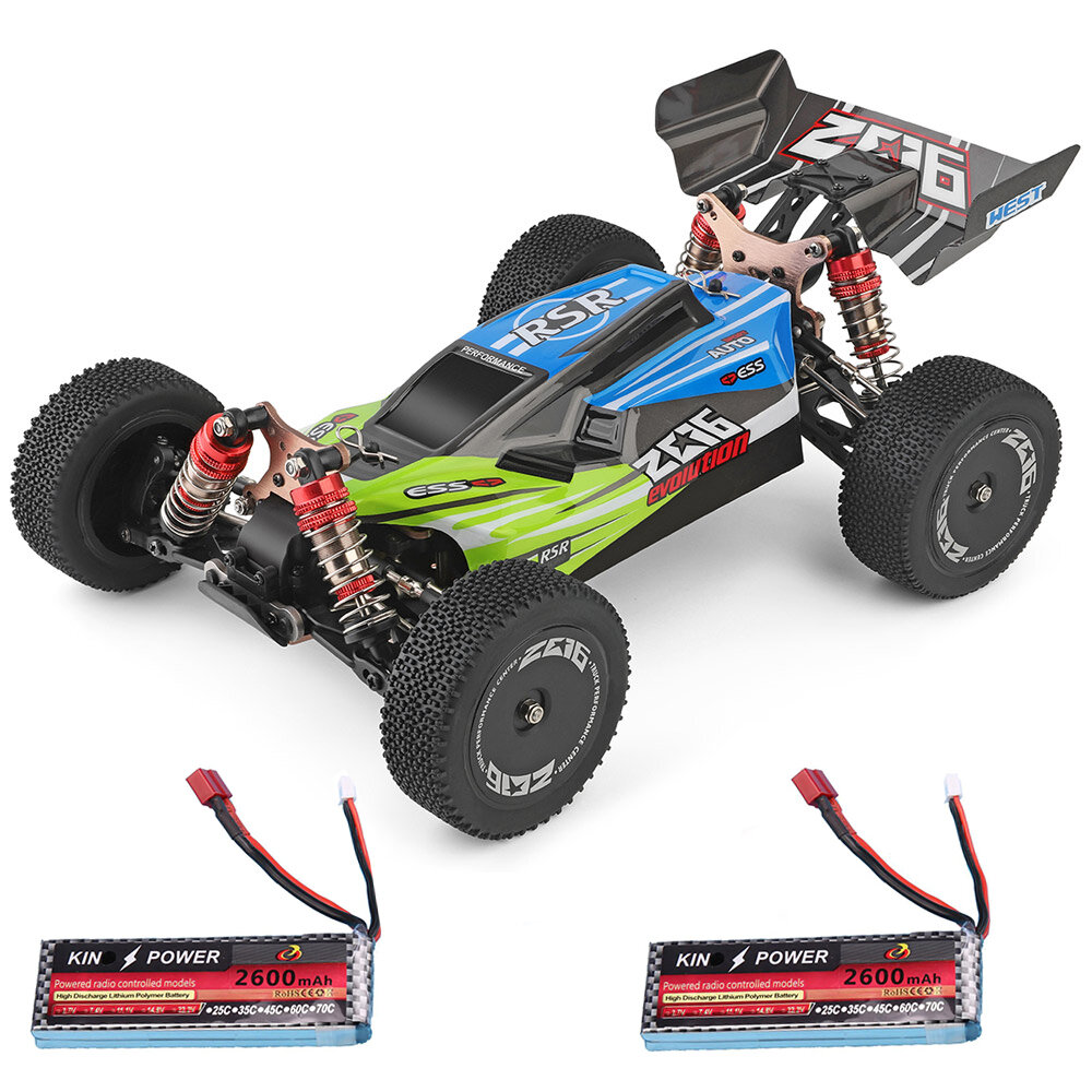 WPL C24 1/16 2.4G 4WD Crawler Truck RC Car Full Proportional Control RTR - 1