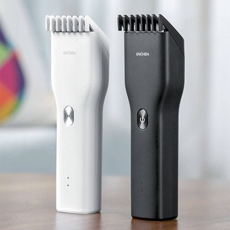 ENCHEN Hummingbird Electric Hair Clipper USB Charging Low Noise Hair Trimmer with 3 Hair Comb From Xiaomi Youpin - 1