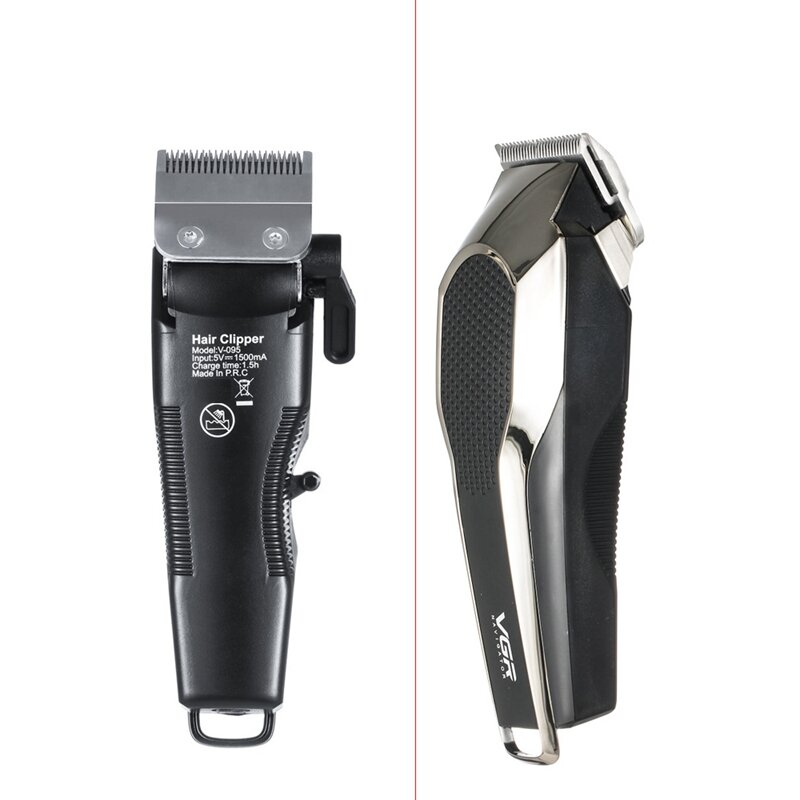 Hair Clippers for Men,Hizek Beard Trimmer Professional Cordless Hair Trimmer with 3 Adjustable Speeds,LED Display,USB Charging Stand and 6 Attachment Guide Combs,for Family Use - 3