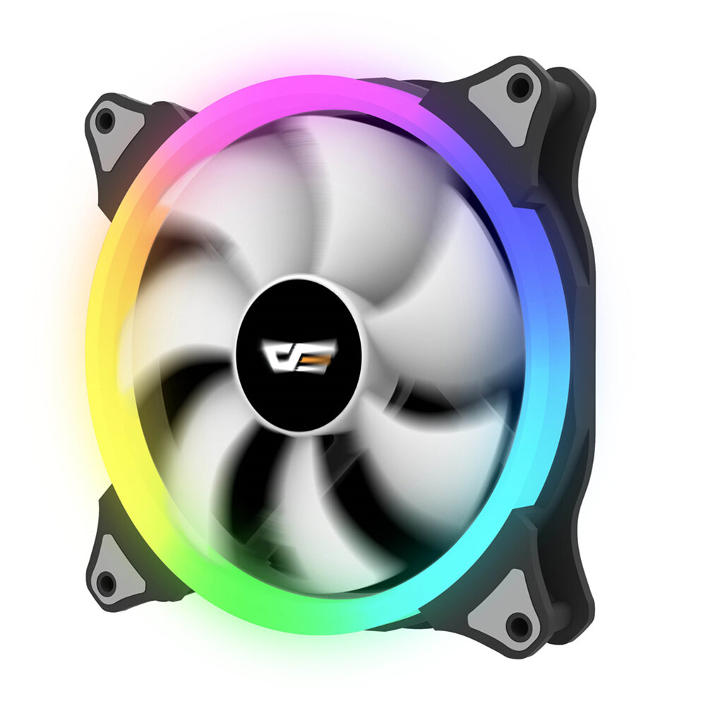 3Pin Six Copper Heat Pipes Blue Backlit CPU Cooling Fan for Intel 775 1150 1151 AMD - 3
