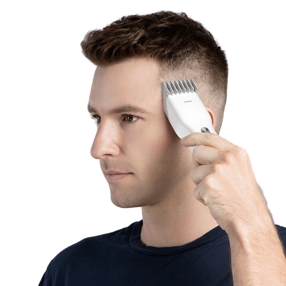 ENCHEN Hummingbird Electric Hair Clipper USB Charging Low Noise Hair Trimmer with 3 Hair Comb From Xiaomi Youpin - 5