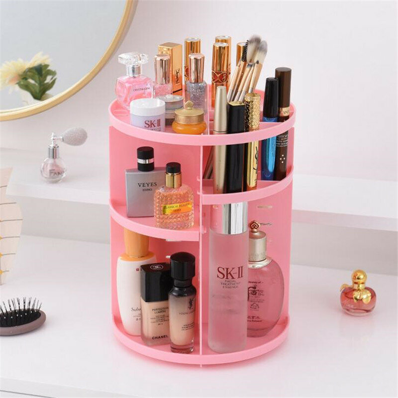 Acrylic Clear Cosmetic Container Makeup Storage Organizer - 2