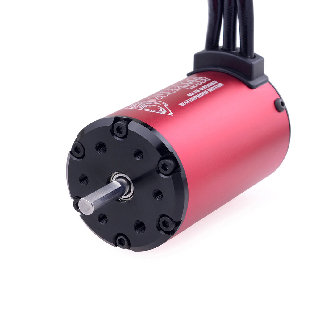 Surpass Hobby Waterproof F540 V2 Sensorless Brushless Motor with 60A ESC for 1/10 RC Vehicles - 5