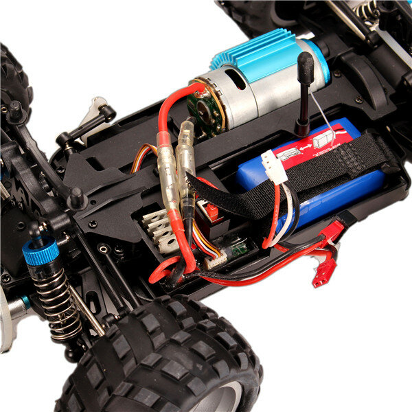 Wltoys K989 1/28 2.4G 4WD Brushed RC Car Vehicles RTR Model - 8