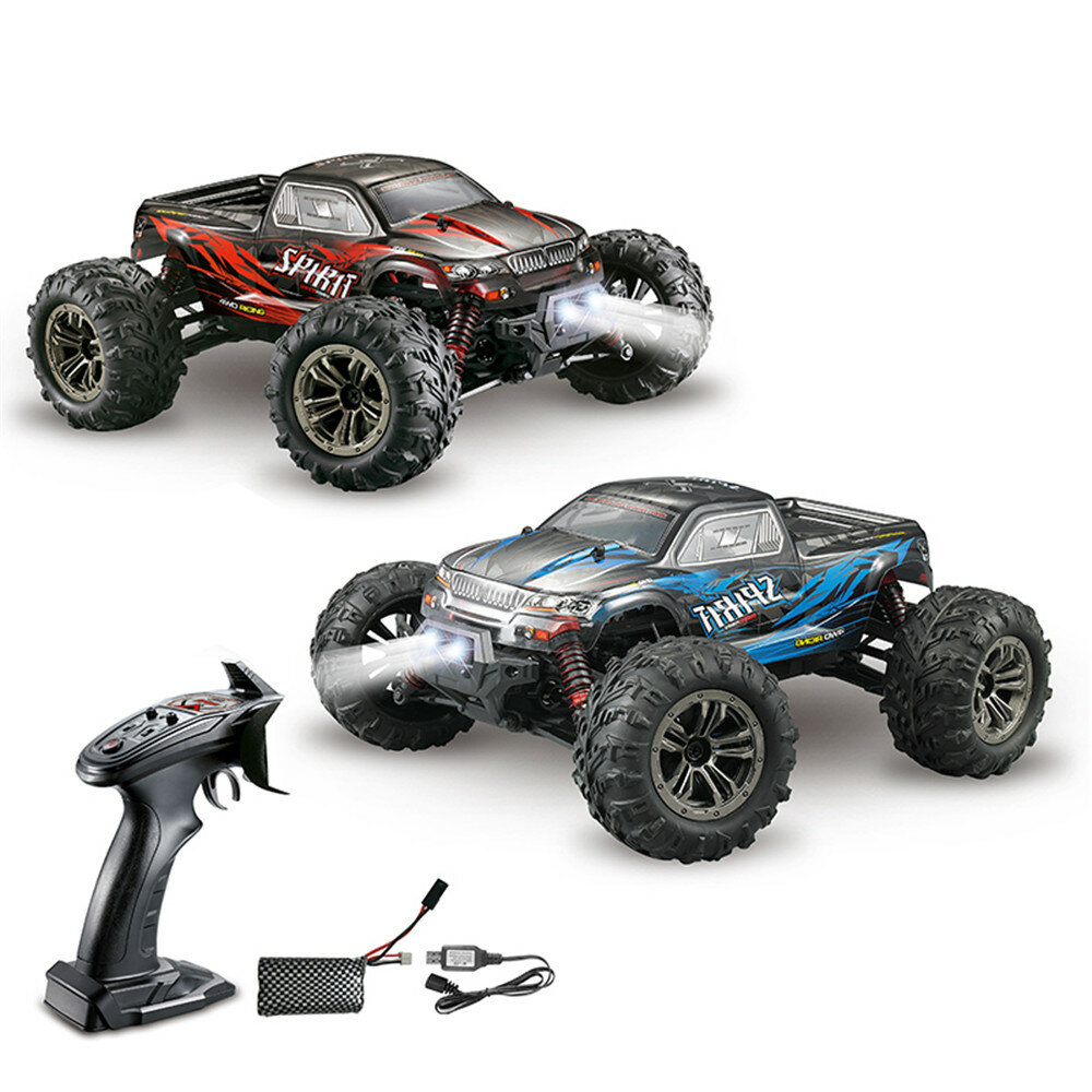 Xinlehong Q901 1/16 2.4G 4WD 52km/h Brushless Proportional control Rc Car with LED Light RTR Toys - 1
