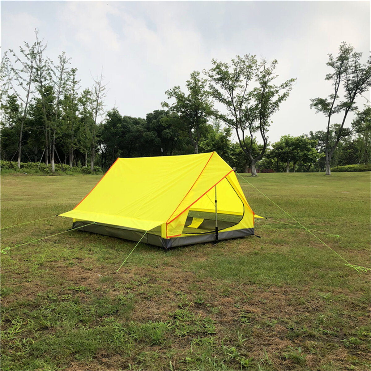 Multi-functional Waterproof Windproof Tent With Insect Net Ultralight Hammock Aerial Tent Portable Outdoor Camping 270x140cm - 9