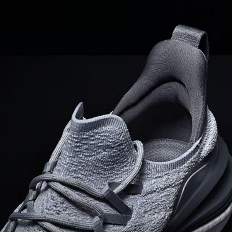 Xiaomi Mijia Sapatilhas 4 Lavável na máquina Ultraleve Nuvem Elástico PU Sola intermédia 4D Tecido de mosca Fishbone Lock System Antibacteriano Sports Running Shoes Homens Sapatilhas - 6