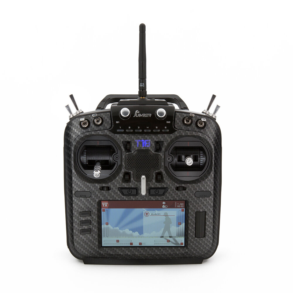 RadioMaster TX16S Hall Sensor Gimbals Multi-protocol RF System OpenTX Transmitter with TBS Crossfire Micro TX V2 Module and Receiver Combo Set - 1