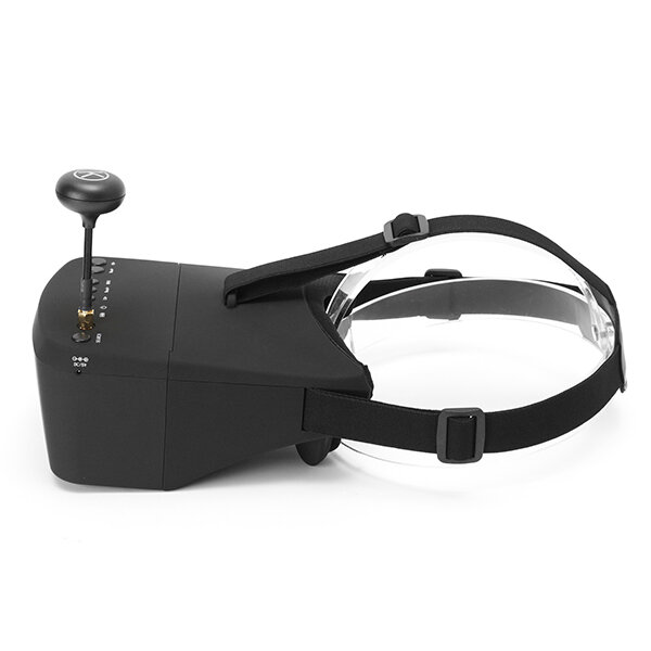 Eachine EV100 720*540 5.8G 72CH FPV Goggles With Dual Antennas Fan 7.4V 1000mAh Battery For RC Drone - 6