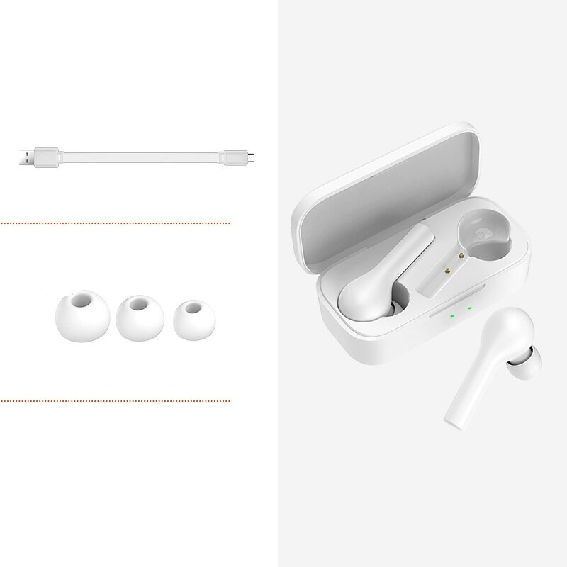 QCY T5 TWS bluetooth 5.0 Earphone HiFi Stereo AAC Smart Touch HD Calls Headphone from Xiaomi Eco-System - 3