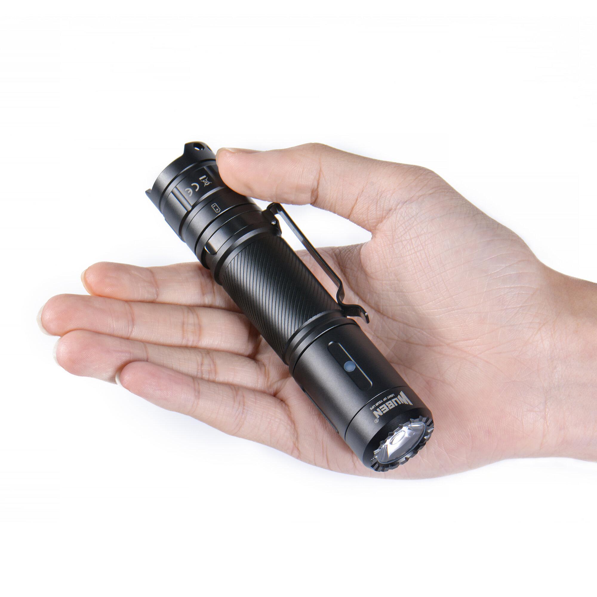 JETbeam Mini-1 TI Titanium XP-G2 130LM USB Rechargeable Mini LED Flashlight - 5